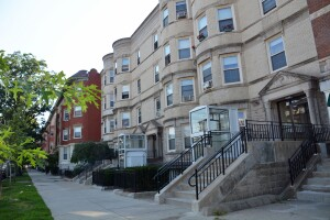 The Comonwealth and Glenville Apartments are on 17 scattered properties, all on the same block in the Allston-Brighton neighborhood of Boston.