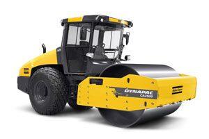 Atlas Copco's Dynapac soil roller