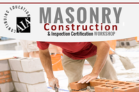 Masonry Certification for Contractors Nears