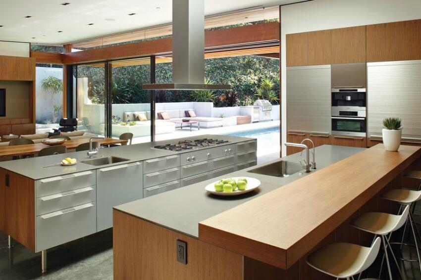 Ridgeline House Kitchen, Pasadena, Calif.