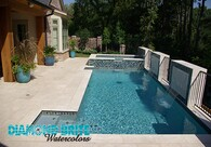 DIAMOND BRITE Watercolors™ -  Exposed Aggregate Pool Finishes