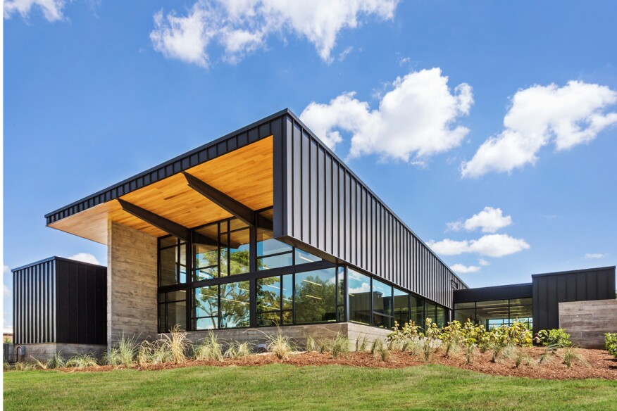 Hicks Orthodontics, Lenoir City, Tenn., by BarberMcMurry architects.
