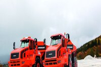 Articulated dump trucks from Doosan