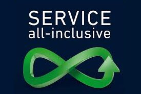Service is All-Inclusive, Enjoy the benefits
