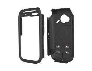 Trident's Kraken AMS cases are the only aftermarket phone cases we know of that meet MIL-STD 810 requirements. Like the phones rated to keep out water and dust, this case requires manually sealing the rubber ports in order to achieve the water- and dust-infiltration ratings of the 810 standard.