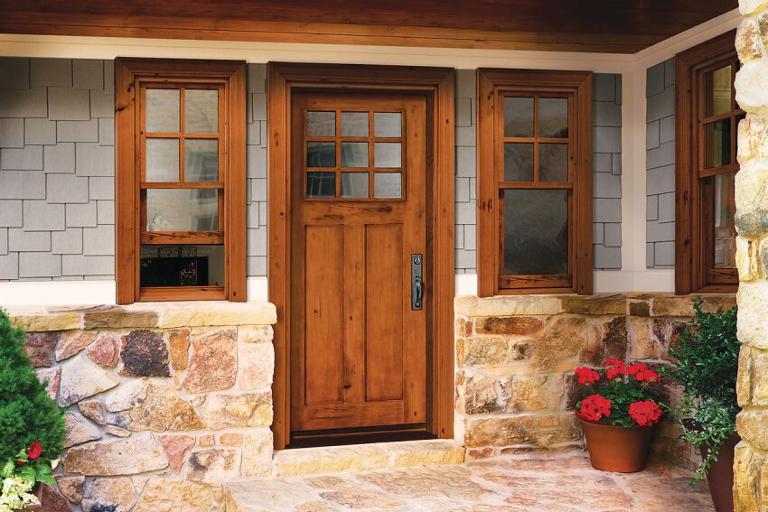 Jeld-Wen Custom Wood Line windows and doors
