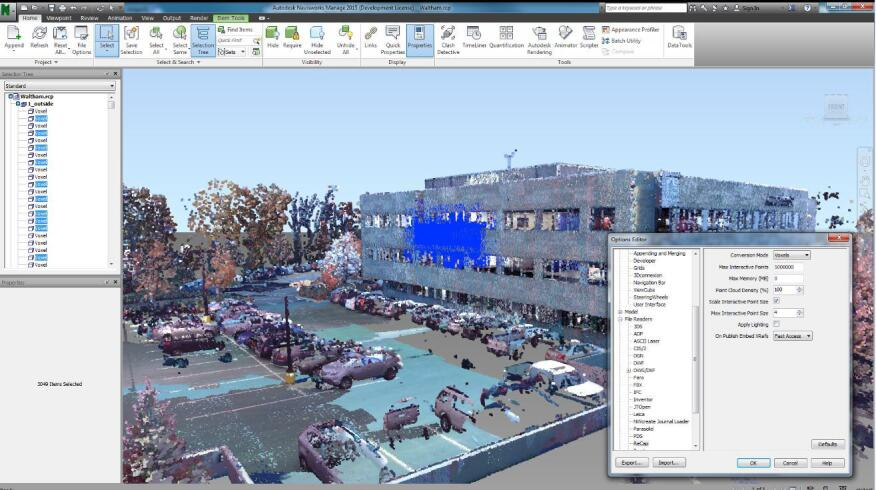 Autodesk has improved the processing and visualization capabilities for point-cloud data in its 2015 Building Design Suite, including ReCap.
