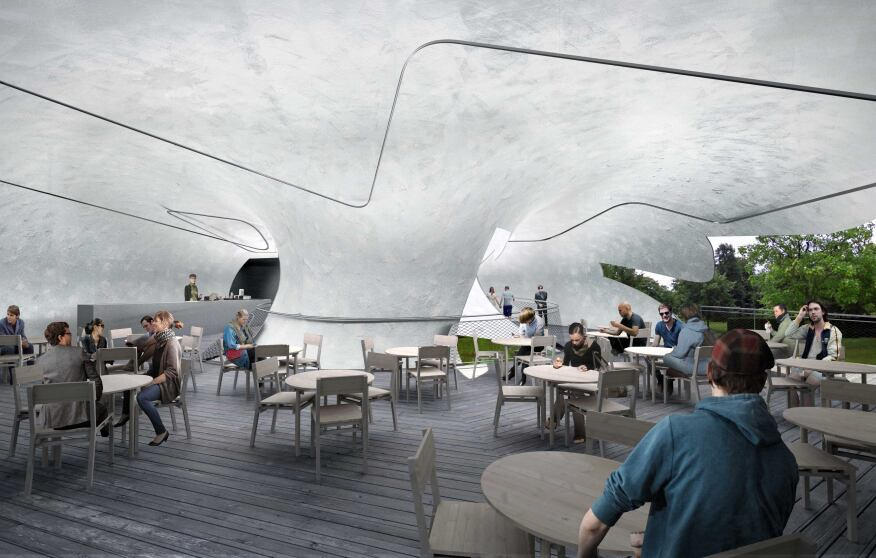 2014 Serpentine Gallery Pavilion - Internal indicative CGI