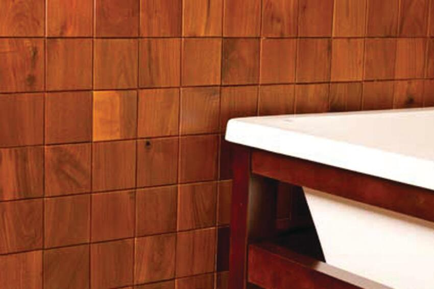 Regained Grain: Everitt & Schilling Re-Grained Decorative Wood Tiles