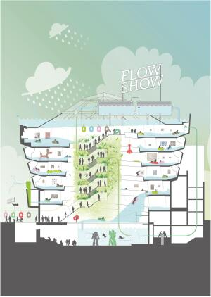 WORKac's Flow Show water park