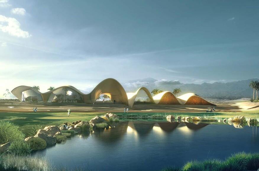 Ayla Golf Academy Amp Clubhouse Architect Magazine