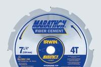 Launch Time 2009: Irwin Marathon PCD Fiber Cement Circular Saw Blades