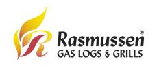Rasmussen Gas Logs & Grills Logo
