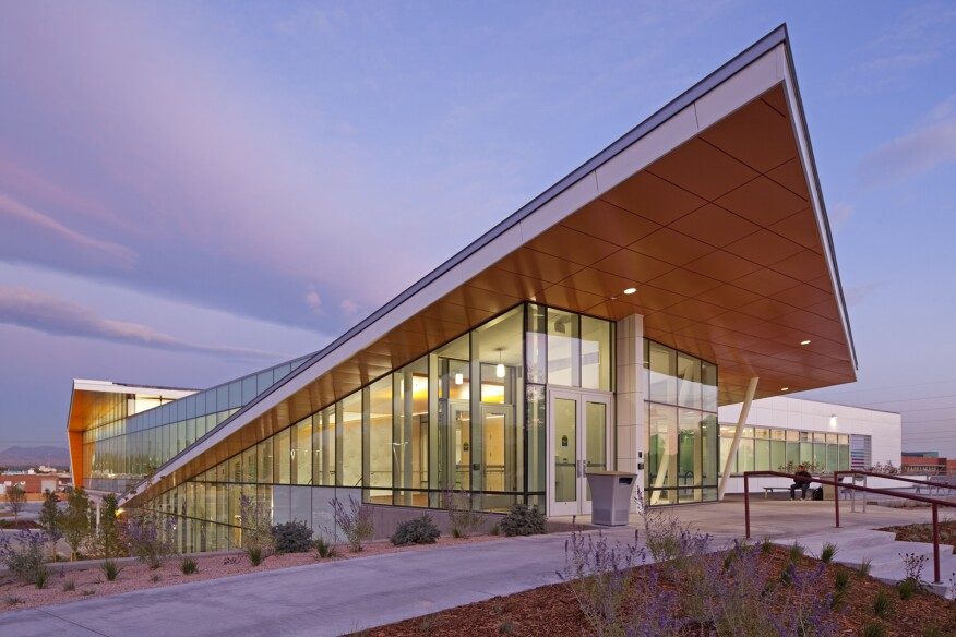 RNL designed the Eastside Human Services facility for the Denver Department of Human Services, which was completed in 2011. Dominic Weilminster, whom AIA Colorado named this year's Emerging Young Professional at the 2016 Young Architects Awards Gala, led the design team.