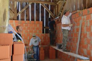 The company matches all individual employees' donations to charitable groups and allocates about $275,000 annually to support community groups such as the local United Way in markets where Betenbough builds homes.