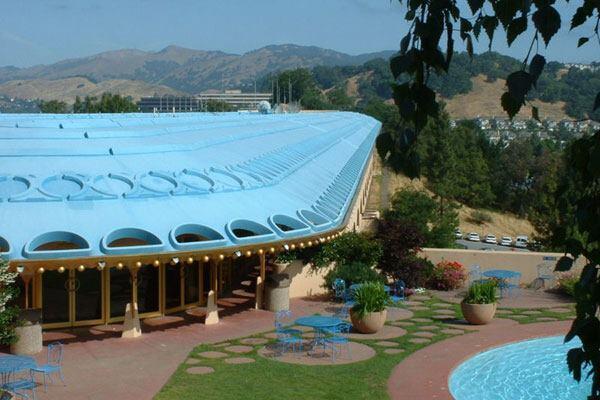 The Marin County Civic Center, Marin County, California.