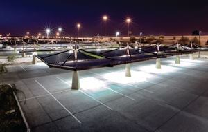 Progressive Concrete Works installed 140,000 square feet of pervious concrete for the Glendale (Ariz.) Park and Ride, the largest installation in the Southwest.