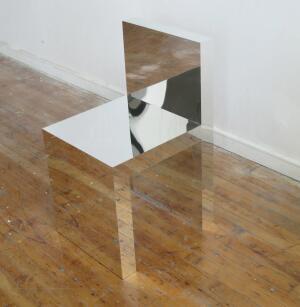 Visible/Invisible chair, by Takeshi Miyakawa.