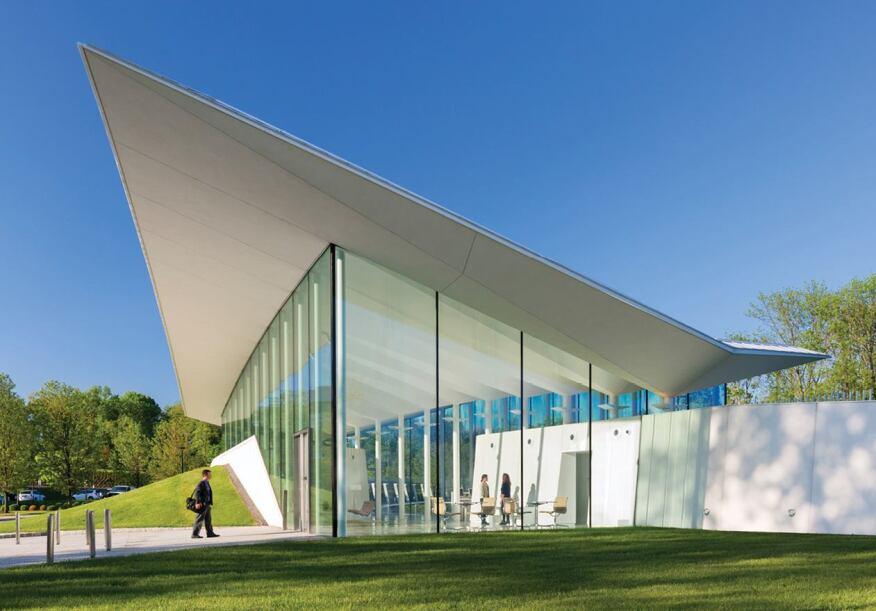 Novartis Visitor Reception Architect Magazine Office