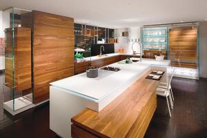 Marron Glace Cabinetry by Bazzeo