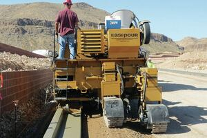 Curb and Gutter Machine by Easi-Pour