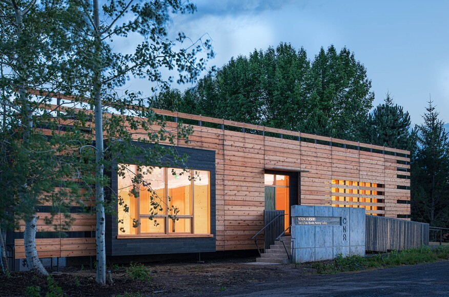 Reveley Classroom Building For The Center For Forest Nursery And - University of idaho architecture
