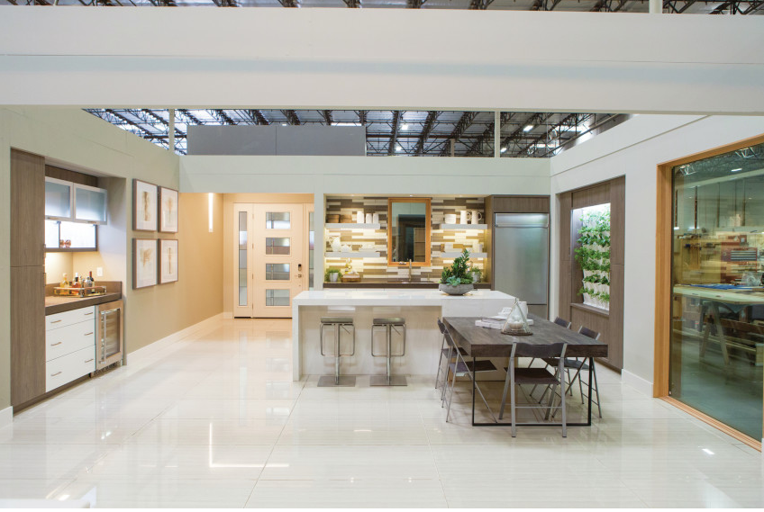 The Greenbuild KB Home ProjeKt kitchen features a number of high-performance products.