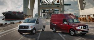 The 2012 Nissan NV lineup includes standard and high roof models.