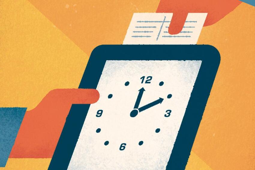 It's About Time: Job Clocks Boost Employee Punctuality & More