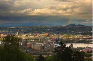 Portland, Silicon Valley's preferred bedroom community.