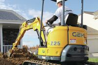 Compact Excavator Enhances Productivity