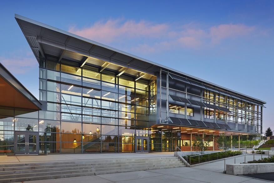 Carl Sandburg Elementary School. Kirkland, Washington by NAC|Architecture