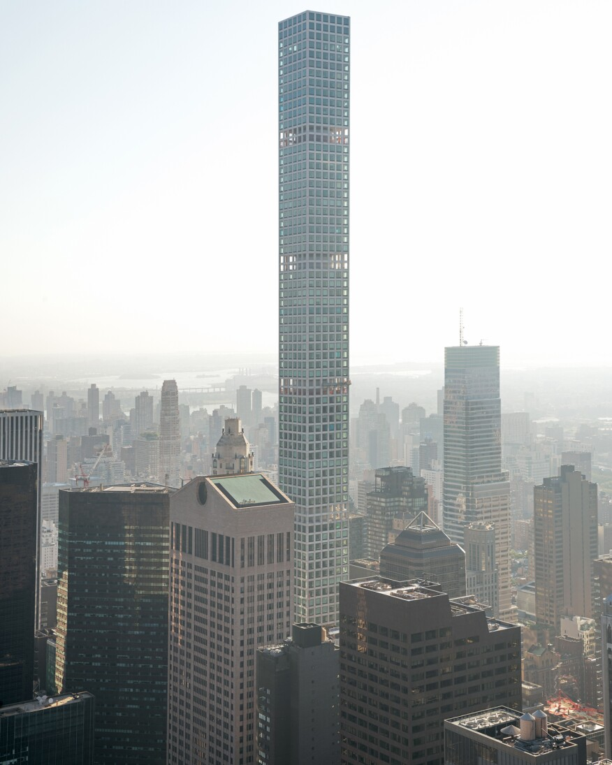 432 Park Avenue, designed by Rafael Viñoly