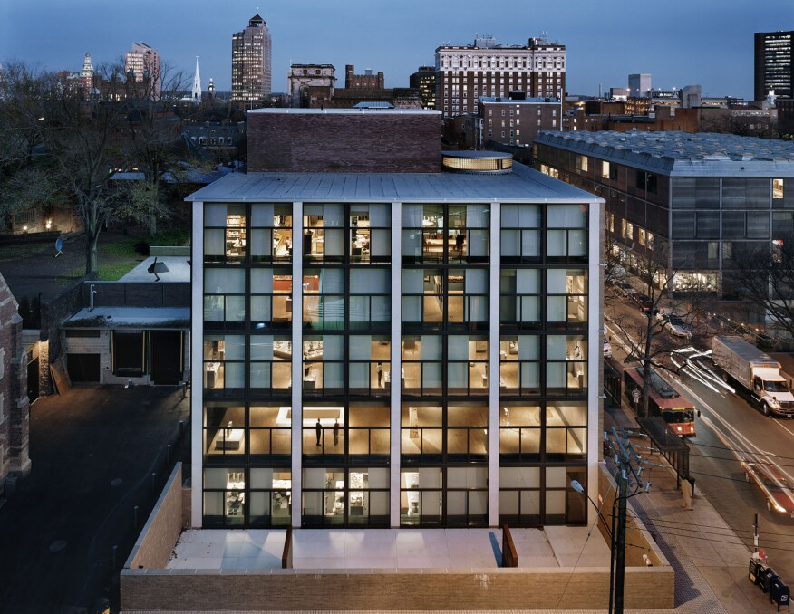Kahn's Yale University Art Gallery