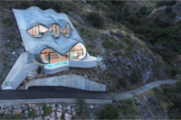 A Dragon Head-Inspired Cave House That's Energy Efficient