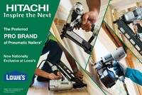 Lowe's and Hitachi Freeze out Home Depot