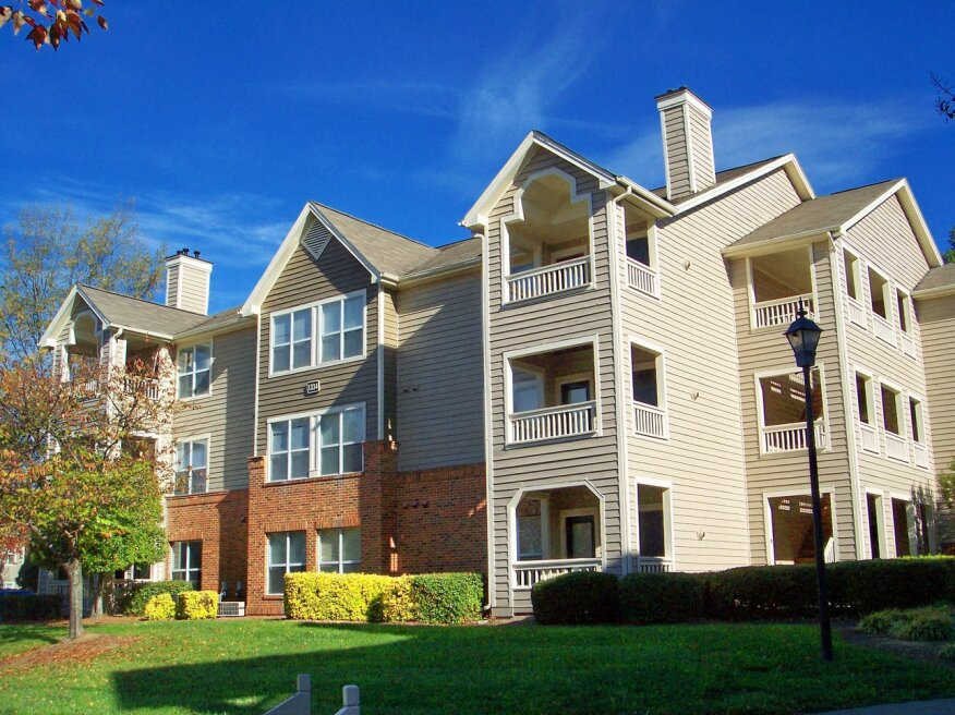 The Steeplechase Apartments community in Greensboro, N.C., was part of the $140 million deal.