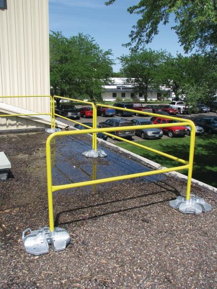 Capital Safety Portable Guardrail System