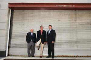 From left to right: Richard Hausler, Principal, Insight Property Group;   Jim Butz, President and CEO, Jefferson Apartment Group; and   Greg Bonifield, Partner, Woodfield Investments