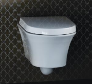 Conserving Commode: The new Porcher Solutions collection offers several water-conserving toilets, including a one-piece unit available in a 1.28 gpf high-efficiency model and a wall-mounted dual-flush toilet, which offers users the choice of flushing at   1.6 or 0.8 gpf and features a Geberit in-wall tank system for the ultimate in space-saving design.