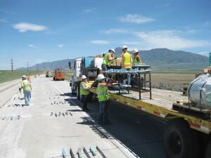 Other concrete pavement preservation (CCP) methods Utah DOT used included partial and full-panel patching where panels were cracked or spalled, slabjacking, resealing, and diamond grinding.