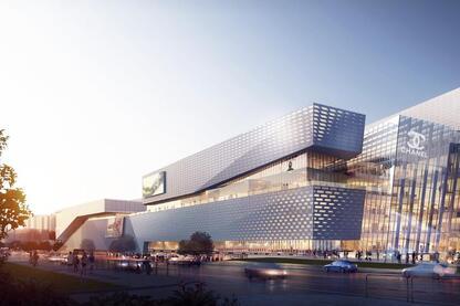 The Heart of Yiwu, An 'Urban Living' Plaza