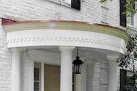 Building a Curved Portico