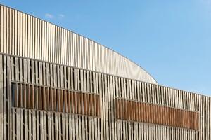 Innovative Detail: Centre De Congrès à Mons Wall Section
