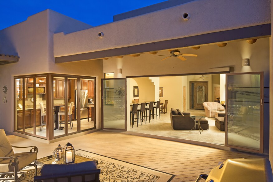 Coulombe Residence, Location: Phoenix, AZ, Client: NanaWall Systems