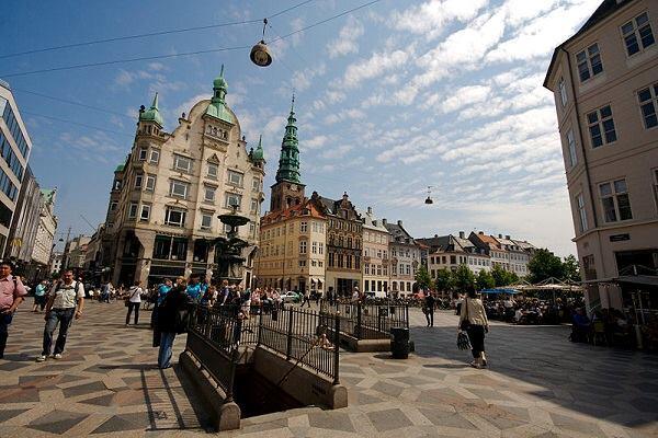 Copenhagen's Strøget.