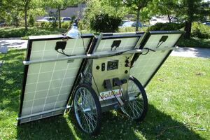 Portable Solar Generator From SolSolutions