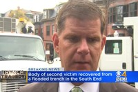 Boston Mayor Walsh Pushes Trench Safety Rule