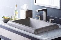 Make a Weighty Statement With NativeStone Sinks