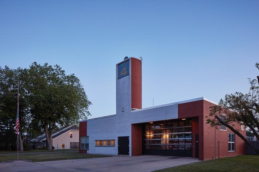 Robert Venturi's Fire Station No. 4